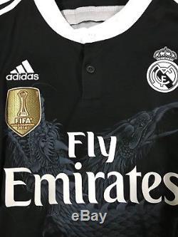 Real Madrid Spain Ronaldo UCL Football Jersey Original Adidas Soccer Shirt XXL