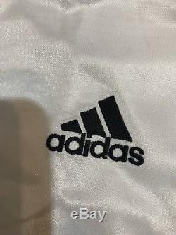 Real Madrid Spain Zidane Ronaldo Era Player Issue No Formotion MatchUnworn Shirt