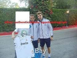Real Madrid Team Signed Jersey Ronaldo+kaka+ramos+benzema+ozil+casillas+pepe+mou