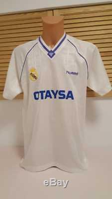 Real Madrid Trikot 1990/91 Camiseta Hummel L Otaysa Home Jersey Shirt Maillot