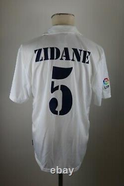 Real Madrid Trikot Gr. M #5 Zidane 2001-2002 Adidas jersey Shirt Centenary 100