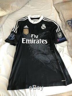 Real Madrid Y3 Yohji Yamamoto Y-3 14-15 Dragon Kroos Bayern Jersey Shirt Large L