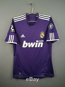 Real Madrid jersey M 2010 2011 third shirt soccer football Adidas ig93