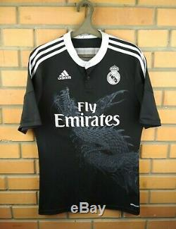 Real Madrid jersey medium 2014 2015 third shirt F49264 soccer football Adidas