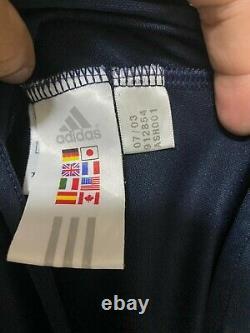 Real madrid 2003/04 Player issue Beckham Jersey Maglia Trikot Camiseta Mailot