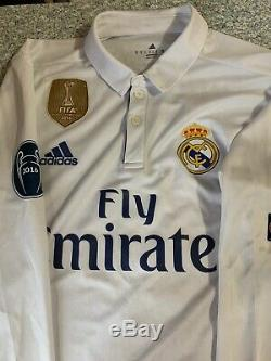 Real madrid 2016/17 jersey Sergio Ramos Long Sleeve Jersey Ucl Patches