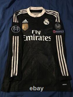 Real madrid black dragon jersey 7 ronaldo ucl 2015