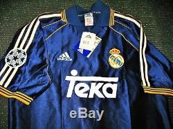 Redondo Real Madrid Jersey 1998 1999 UEFA Shirt Camiseta Argentina Maglia NEW! M