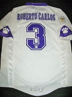 cheap for discount 9849d 5fc79 Roberto Carlos Real Madrid Kelme 1997 1998 Jersey PLAYER ...