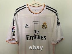 Ronaldo, 2013/08/23 Real Madrid Raul Testimonial Last Match Issue Un Worn Shirt