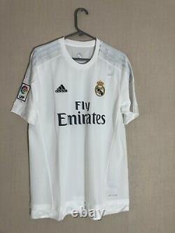 Ronaldo #7 Large 2015/16 Real Madrid Home Football Shirt Jersey Adidas BNWT