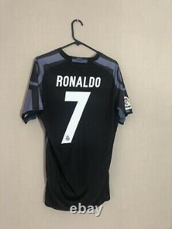 Ronaldo #7 Real Madrid 2016/17 Medium 3rd Football Shirt Jersey Adidas BNWT