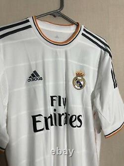 Ronaldo #7 Real Madrid Large 2013/14 Home Shirt Jersey Adidas BNWT
