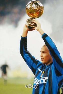 Ronaldo Inter Milan 1997 1998 DEBUT Jersey Maglia Shirt Real Madrid Barcelona L