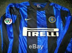 Ronaldo Inter Milan 1999 2000 Jersey Shirt Maglia Real Madrid Barcelona L