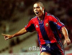 Ronaldo Kappa Barcelona Jersey 1996 1997 Shirt Inter Real Madrid Camiseta XL
