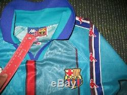 Ronaldo Kappa Barcelona UEFA CUP Jersey 1996 1997 Shirt Inter Real Madrid L