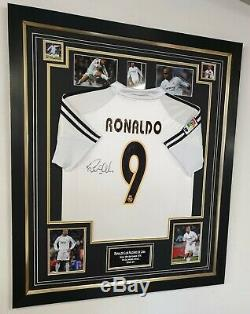 Ronaldo Luís Nazário de Lima Signed Shirt Autographed Real Madrid Jersey AFTAL