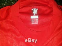Ronaldo Manchester United 2007 2008 Jersey LS Shirt Real Madrid Juventus XL