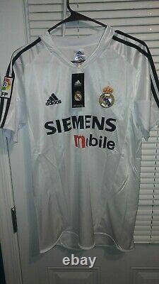 Ronaldo Nazario #9 Real Madrid 2004-05 Home Jersey