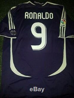 Ronaldo Real Madrid 2006 2007 Jersey Brazil Camiseta Maglia Barcelona Shirt L