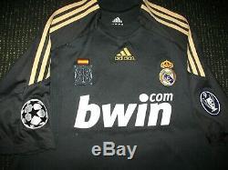 Ronaldo Real Madrid DEBUT UEFA Jersey 2009 2010 Shirt Camiseta Juventus XL