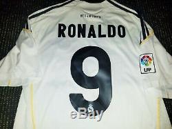 Ronaldo Real Madrid Jersey DEBUT 2009 2010 Shirt Camiseta Maglia Juventus M