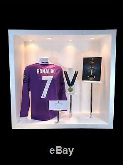Ronaldo Signed Champions League Final Shirt & Winners Medal Real Madrid 2017