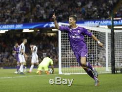 Ronaldo Signed Champions League Final Shirt & Winners Medal Real Madrid 2017