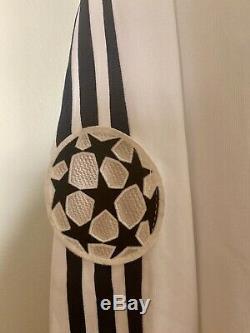 Ruben2002/03 Real Madrid Champions League Match Centenary Un Worn Shirt Jersey