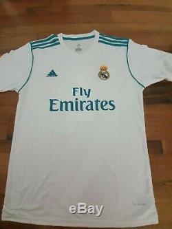 SERGIO RAMOS REAL MADRID Hand Signed Adidas Jersey + BECKETT COA