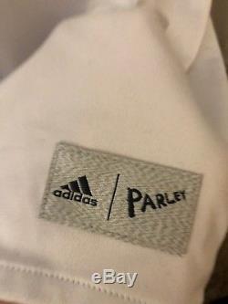 Sergio Ramos 2016 2017 Parley Real Madrid LS Jersey Soccer Adidas M Medium