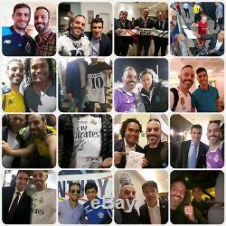 Sergio Ramos Hand Signed Signature Jersey Shirt Real Madrid +proof Ronaldo Messi