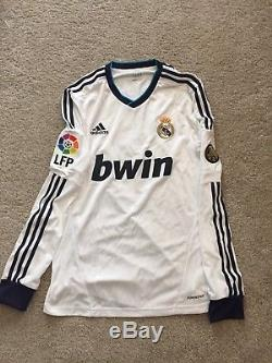 Sergio Ramos Match Worn Real Madrid Jersey