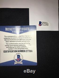 Sergio Ramos Real Madrid Autographed Sz L Jersey BAS Beckett Certified (JSA PSA)