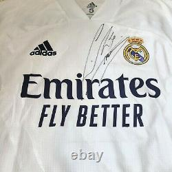 Sergio Ramos Real Madrid Champions league Match issued jersey Home 20/21