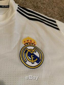 Sergio Ramos Real Madrid Signed Autographed Soccer Jersey BAS Beckett Certified