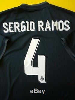 Sergio Ramos Real Madrid authentic jersey L 2019 climachill shirt Adidas ig ig93