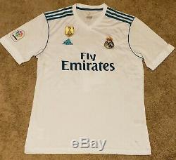 Sergio Ramos Signed Real Madrid 2018 FIFA WC Jersey Beckett COA