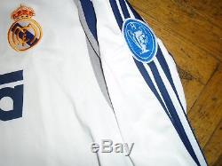 Shirt / Jersey / Trikot Adidas Real Madrid 2000 2001 01 Champions Hierro