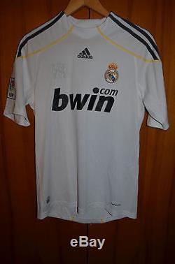 Size S Real Madrid Spain 2009/2010 Football Shirt Jersey Camiseta Adidas Ronaldo
