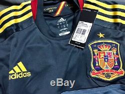 Spain España Casillas Era Real Madrid Player Issue Shirt Formotion L Jersey
