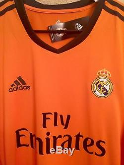 Spain Fc Real Madrid Player Issue Size 6 Formotion Match Unworn Shirt Jersey