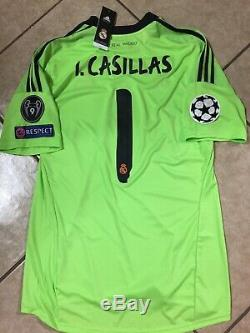 Spain Iker Casillas Fc Porto Real Madrid Football Adidas Shirt Jersey Size XL