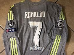 Spain Real Madrid Adizero Ronaldo Formotion Player Issue Shirt Match Unworn