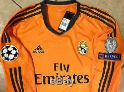 Spain Real Madrid Formotion Ronaldo Match Unworn Shirt Player Issue Uefa Jersey