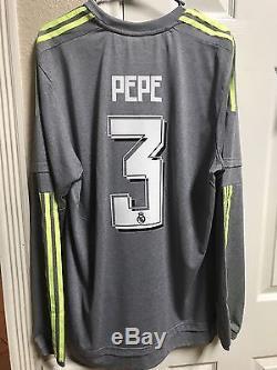 Spain Real Madrid Pepe Portugal Adizero Player Issue Shirt Match Unworn Jersey