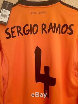 Spain Real Madrid Player Issue Sergio Ramos Formotion Match Unworn Shirt Jersey