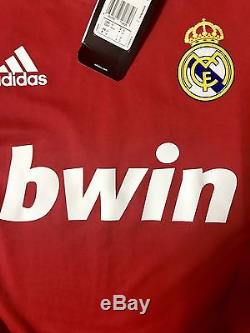 Spain Real Madrid Ronaldo Formotion Player Issue Shirt Liga Malliot Match Unworn