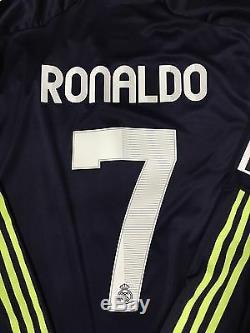 Spain Real Madrid Ronaldo Lg Formotion Player Issue Shirt Adidas Match Unworn